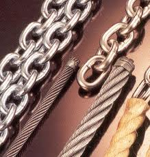 Cables, chaines et cordages